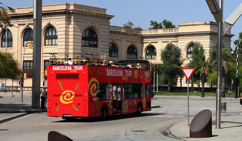 bus montpellier barcelona eurolines barcelona from france review travel jots gare de n mes. Black Bedroom Furniture Sets. Home Design Ideas